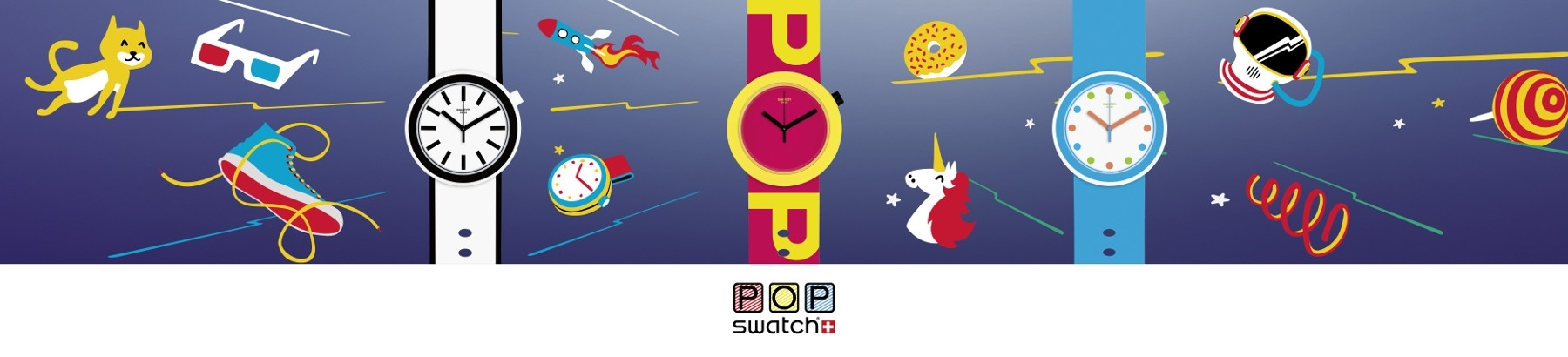 Shop Swatch Pop Watches