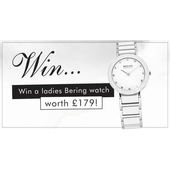 Win a ladies Bering watch worth £179!