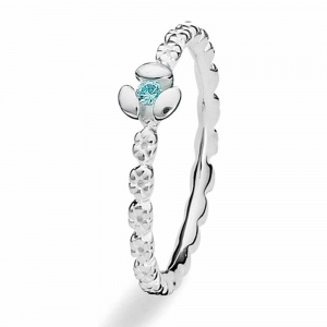 Spinning Jewelry Silver Twinkle Ring 147-07