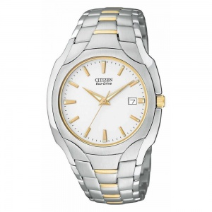 Citizen Gents Two Tone Eco-Drive Watch BM6014-54A