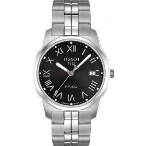 Tissot Gents S/Steel T-Classic PR100 Watch T049.410.11.053.01