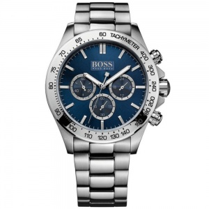 Hugo Boss Gents' Stainless Steel Chrono Ikon Watch 1512963