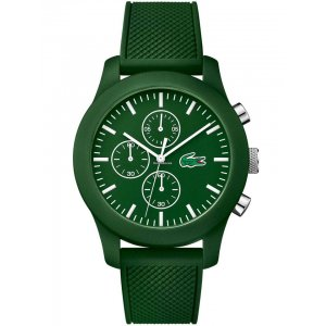 Lacoste Unisex Green 12.12 Chronograph Watch 2010822
