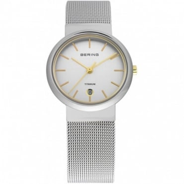 Bering Ladies Classic Titanium Watch 11029-004