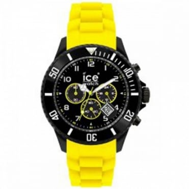 Ice-Watch Chrono Black Sili Yellow Watch CH.BY.B.S.10