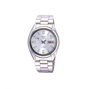 Seiko Gents S/Steel 5 Automatic Watch SNXS73K
