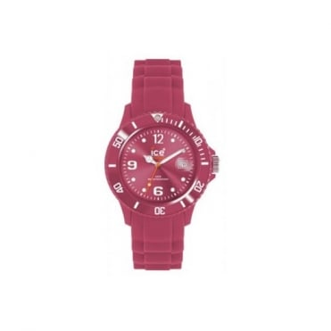 Ice-Watch Unisex Sili Winter Honey Pink Watch SW.HP.U.S.11