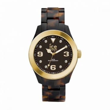 Ice-Watch Ice-Elgant Tortoise Gold Unisex Watch EL.TGD.U.AC.12