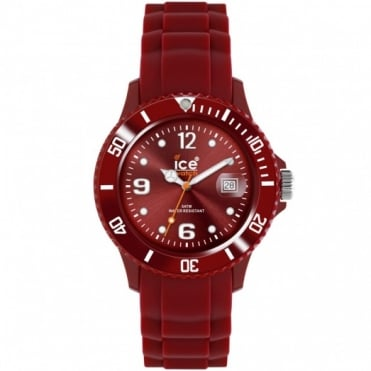 Ice-Watch Unisex Sili Winter Deep Red Watch SW.DR.U.S.11