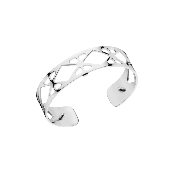 14mm Resille Silver Plate Bangle 70285661600000