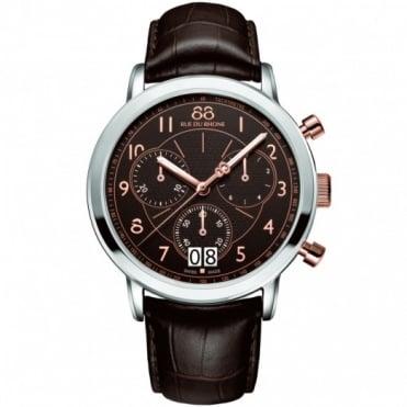88 Rue Du Rhone Gents' S/Steel Chronograph Watch 87WA130024