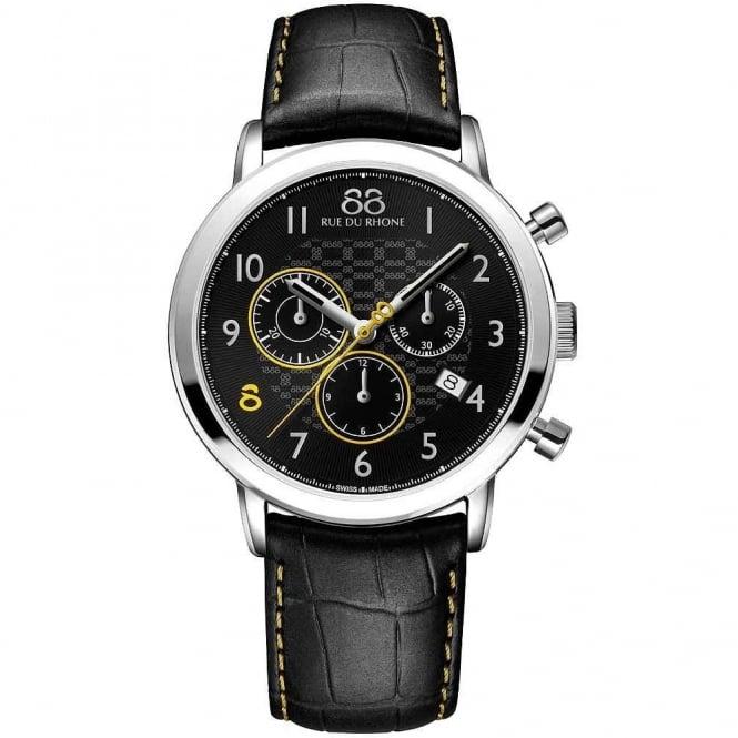88 Rue Du Rhone Gents' S/Steel Chronograph Watch 87WA140028