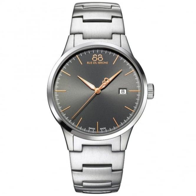 88 Rue Du Rhone Gent's Stainless Steel Rive Watch 87WA154108