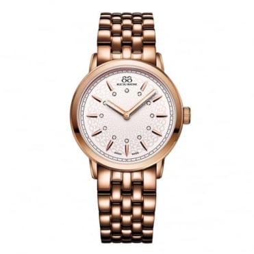 88 Rue Du Rhone Ladies Rose Gold Plate Diamond Set Watch 87WA120013
