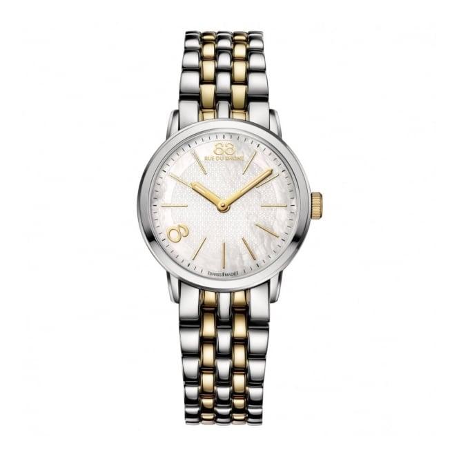 88 Rue Du Rhone Ladies' Two Tone Watch 87WA142902
