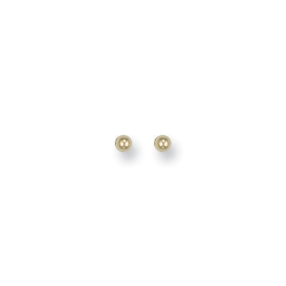 710af4e1a Hilliers 9ct Yellow Gold Ball Stud Earrings 2mm - 8mm