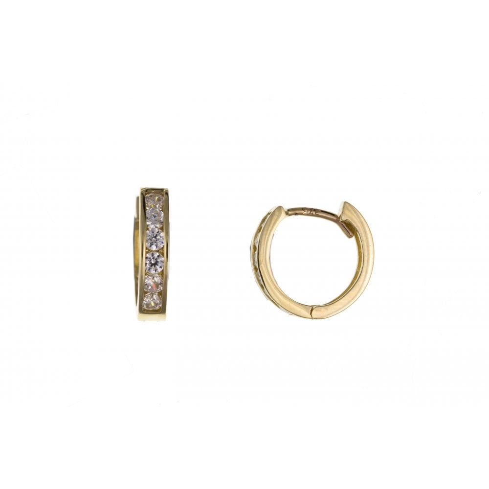 3bf2ba7f3 9ct Yellow Gold Men's Cubic Cuff Earring - Jewellery from Hillier ...