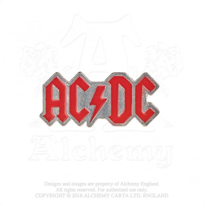 AC/DC Enamelled Logo Pin Badge PC503