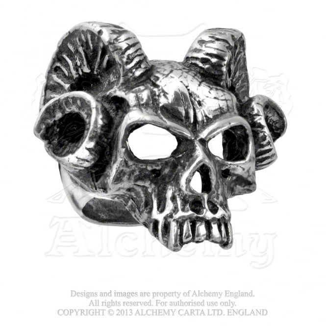 Alchemy Gothic Hells Doorman Ring R176W