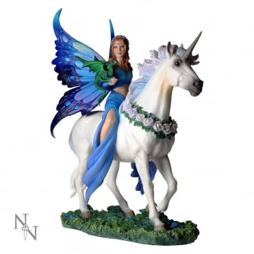 Anne Stokes - Realm Of Enchantment Fairy Figurine B1536E5