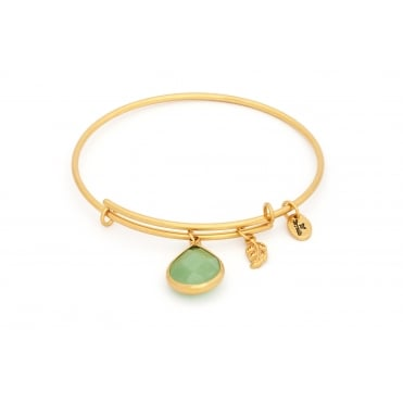 August Gold Plated Lunar Bangle CRBT2108GP