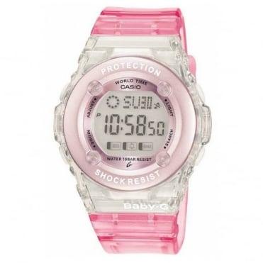 Baby-G Pink Digital Alarm Watch BG-1302-4ER