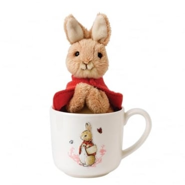 Beatrix Potter Flopsy Mug & Soft Toy Gift Set A27177