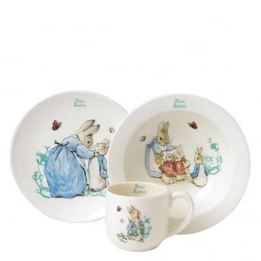 Beatrix Potter Peter Rabbit 3 Piece Nursey Set A25864