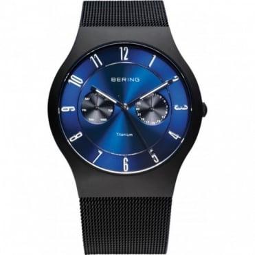 Bering Gents Classic Black Titanium Watch 11939-078