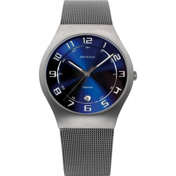 Bering Gents' Titanium Classic Watch 11937-078