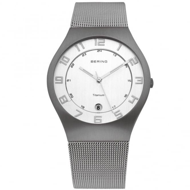 Bering Gent's Titanium Watch 11937-000