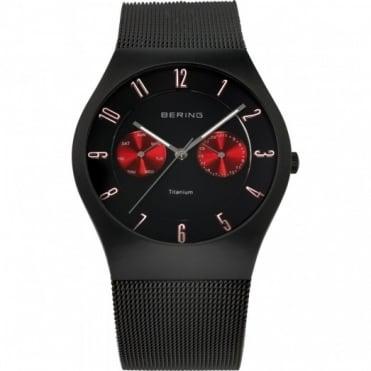 Bering Gents' Titanium Watch 11939-229
