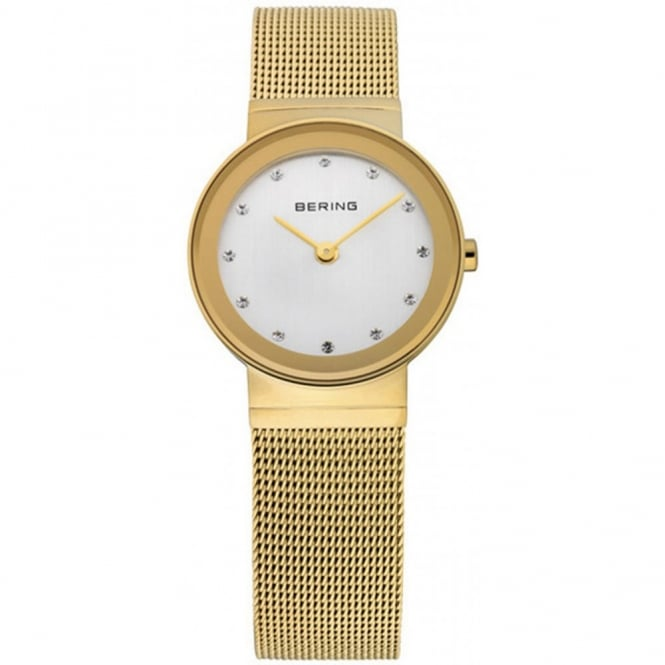 Ladies Classic G/Plate Watch 10126-334