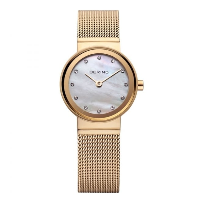Bering Ladies' Classic Gold Plate Watch 10122-334