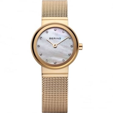 Ladies' Classic Gold Plate Watch 10122-334