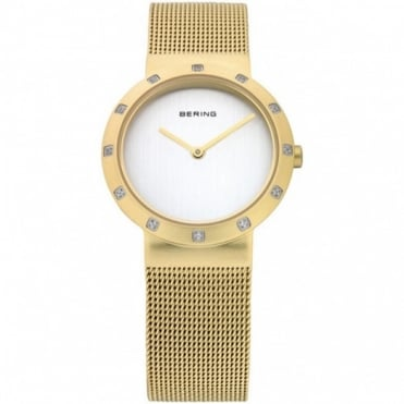Bering Ladies Classic Gold Plated Watch 10629-334