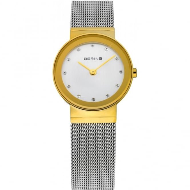 Bering Ladies Classic Two Tone Watch 10126-001