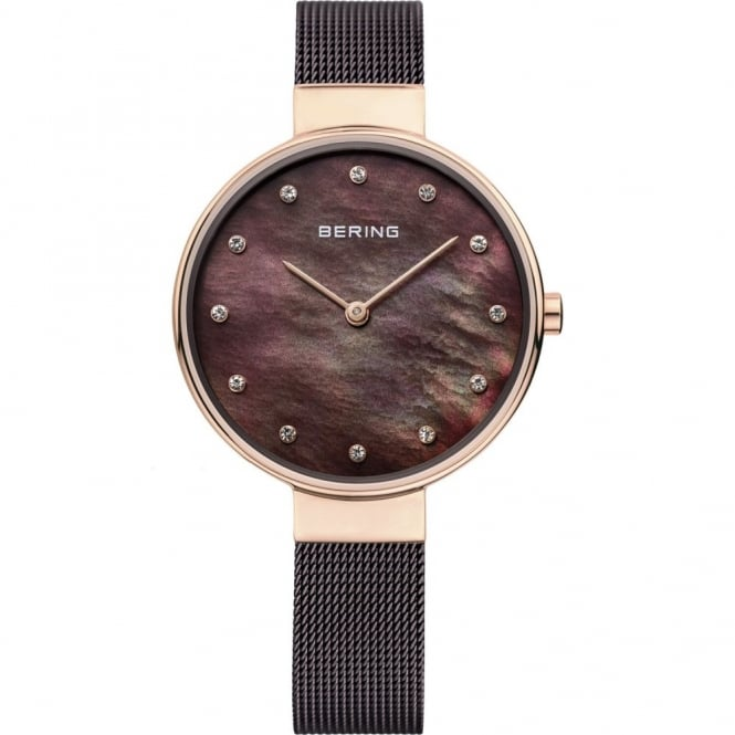 Bering Ladies' Rose Gold Plated Classic Watch 12034-265