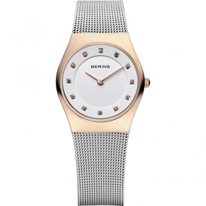 Bering Ladies' Two Tone Classic Watch 11927-064