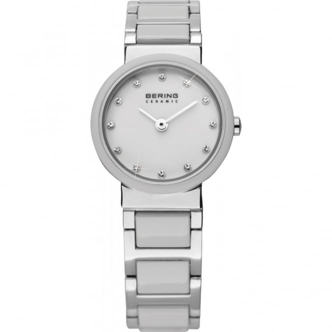 Bering Ladies' White Ceramic Watch 10725-754