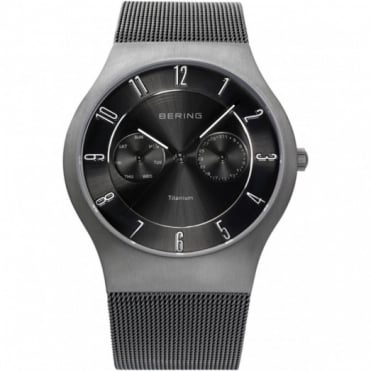Bering Mens Classic Titanium Watch 11939-077