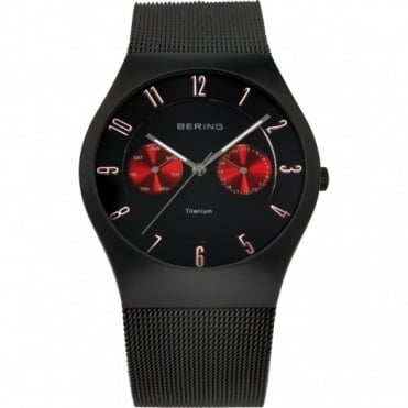 Bering Mens Titanium Watch 11939-229