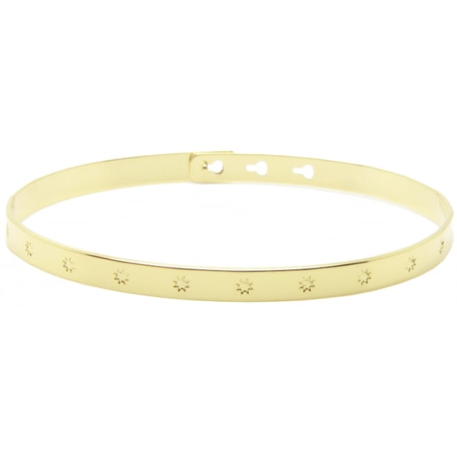 Big Stars, Gold Bangle JC-31.G