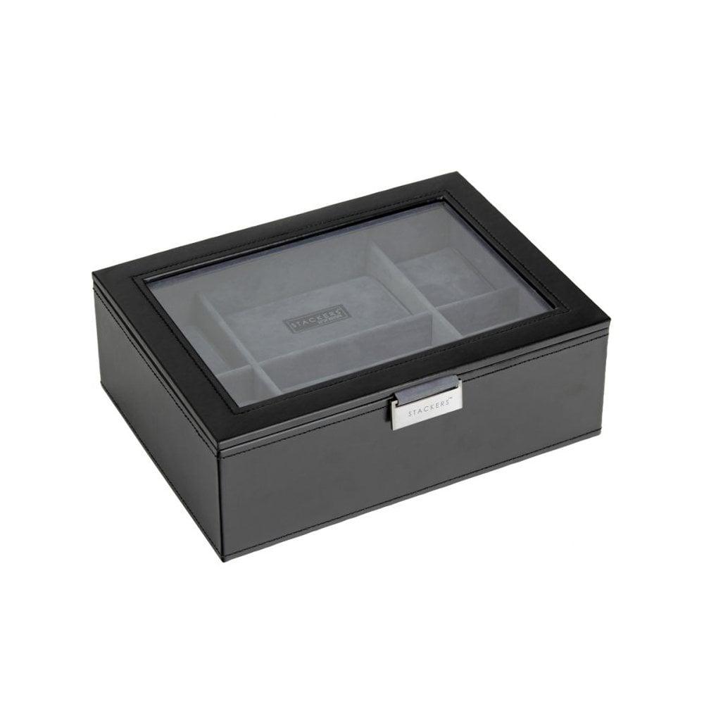 Black 8 Piece Watch Storage Box 73223
