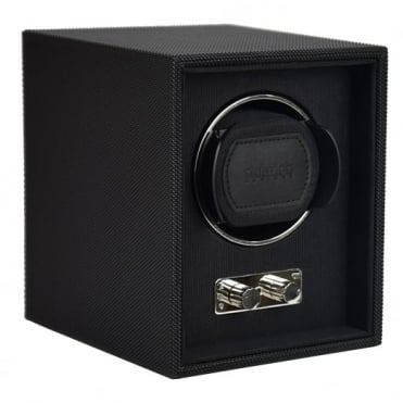 Black Leather 1pc Watch Winder 71117