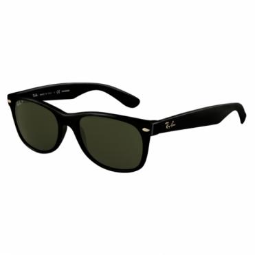 Ray-Ban Black New Wayfarer Sunglasses RB2132 901/58 52