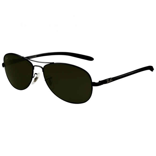 88318956f7 Black Tech Sunglasses RB8301 002 59 - Sunglasses from Hillier ...