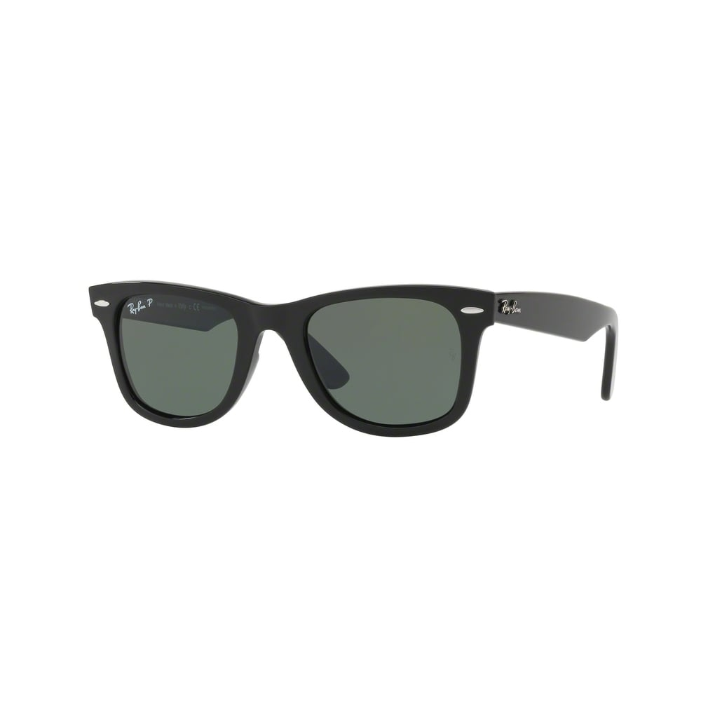 bc7ba00777 Black Wayfarer Ease Sunglasses RB4340 601 58 50 - Mens from Hillier ...