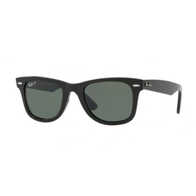 Black Wayfarer Ease Sunglasses RB4340 601/58 50