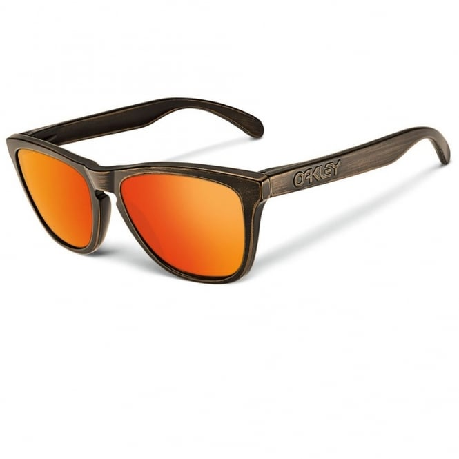 Bronze Decay Polarized Frogskins Sunglasses 24-414